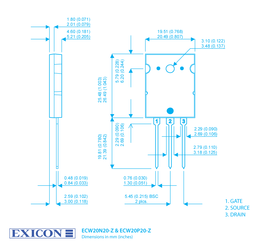 Exicon Lateral Mosfets Our Product Range Mosfet Amplifier Circuits Rollover Image To Zoom In