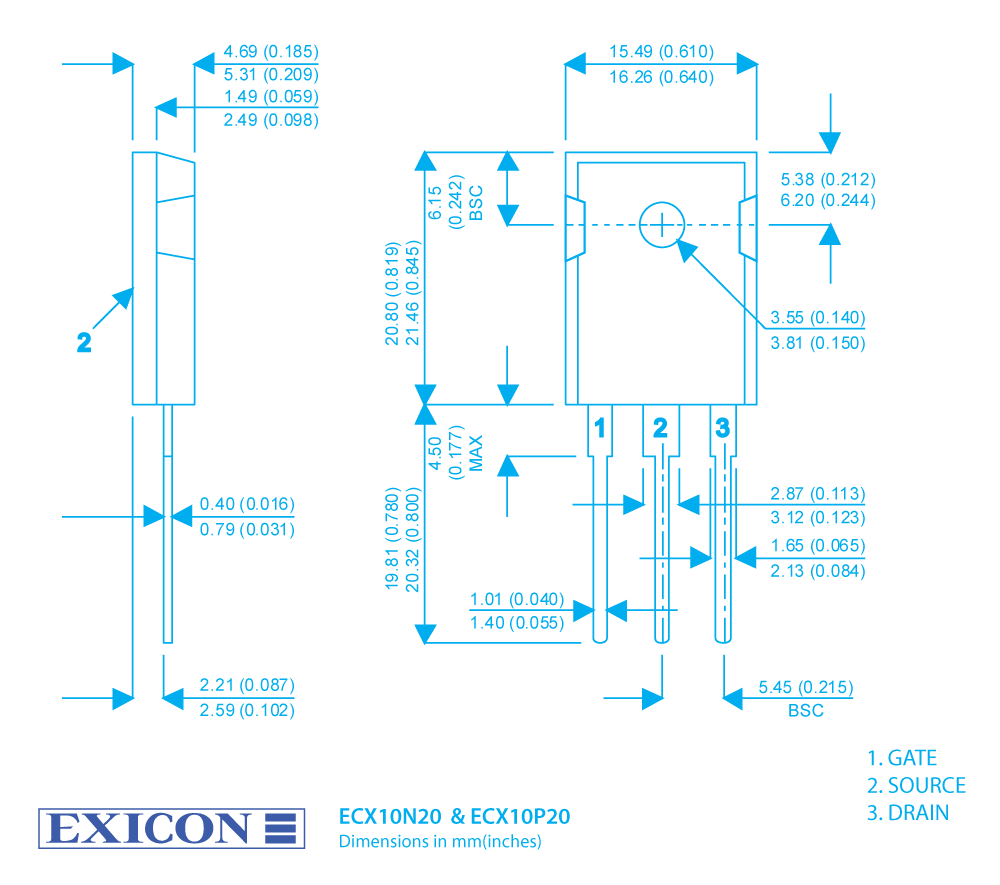 Exicon Lateral Mosfets Our Product Range Mosfet Protection Circuit Rollover Image To Zoom In